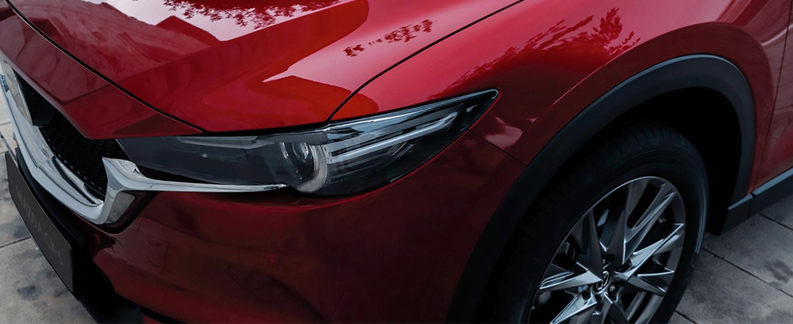 Mazda cx-5 luces