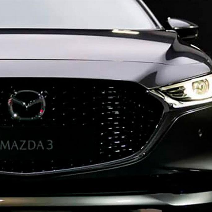 Bomper Mazda 3