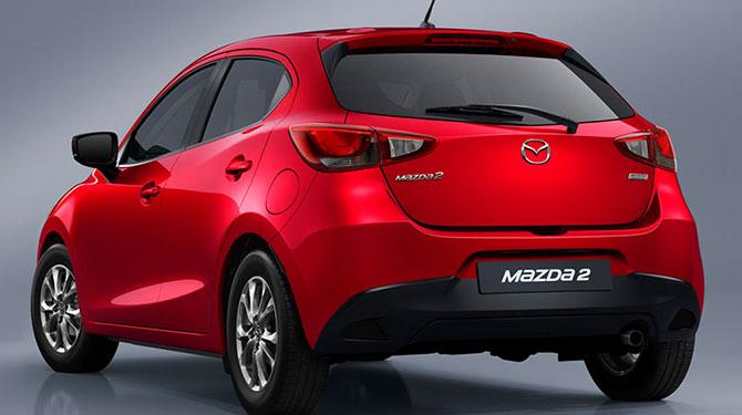 Baúl Mazda 2 sport
