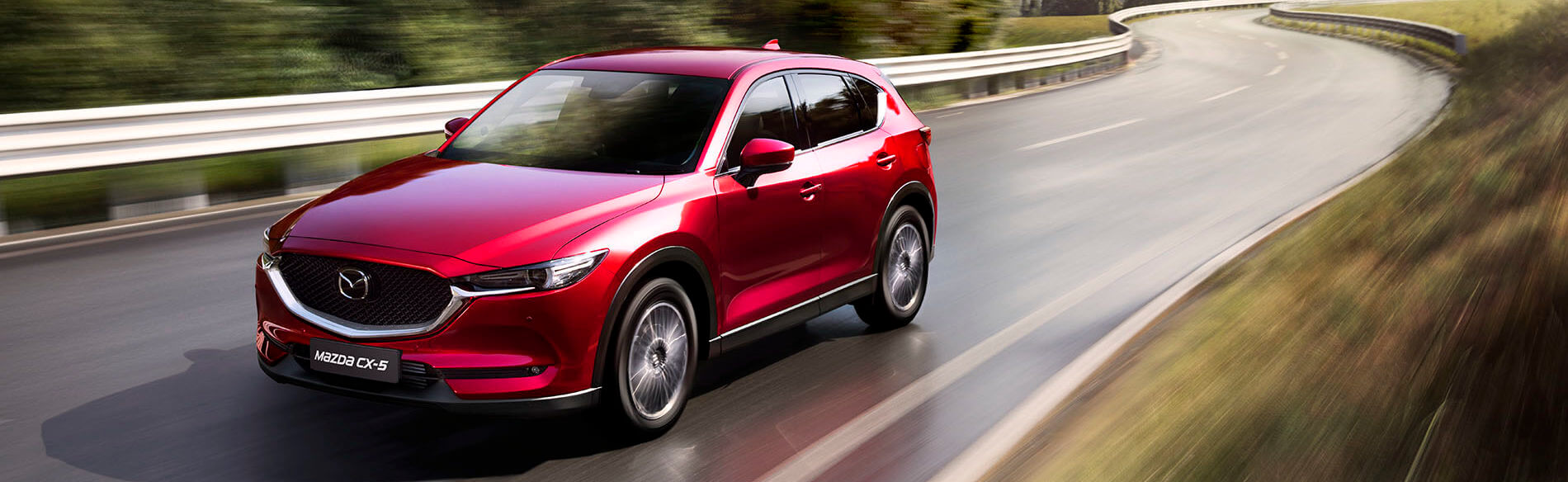 Mazda cx-5 exterior