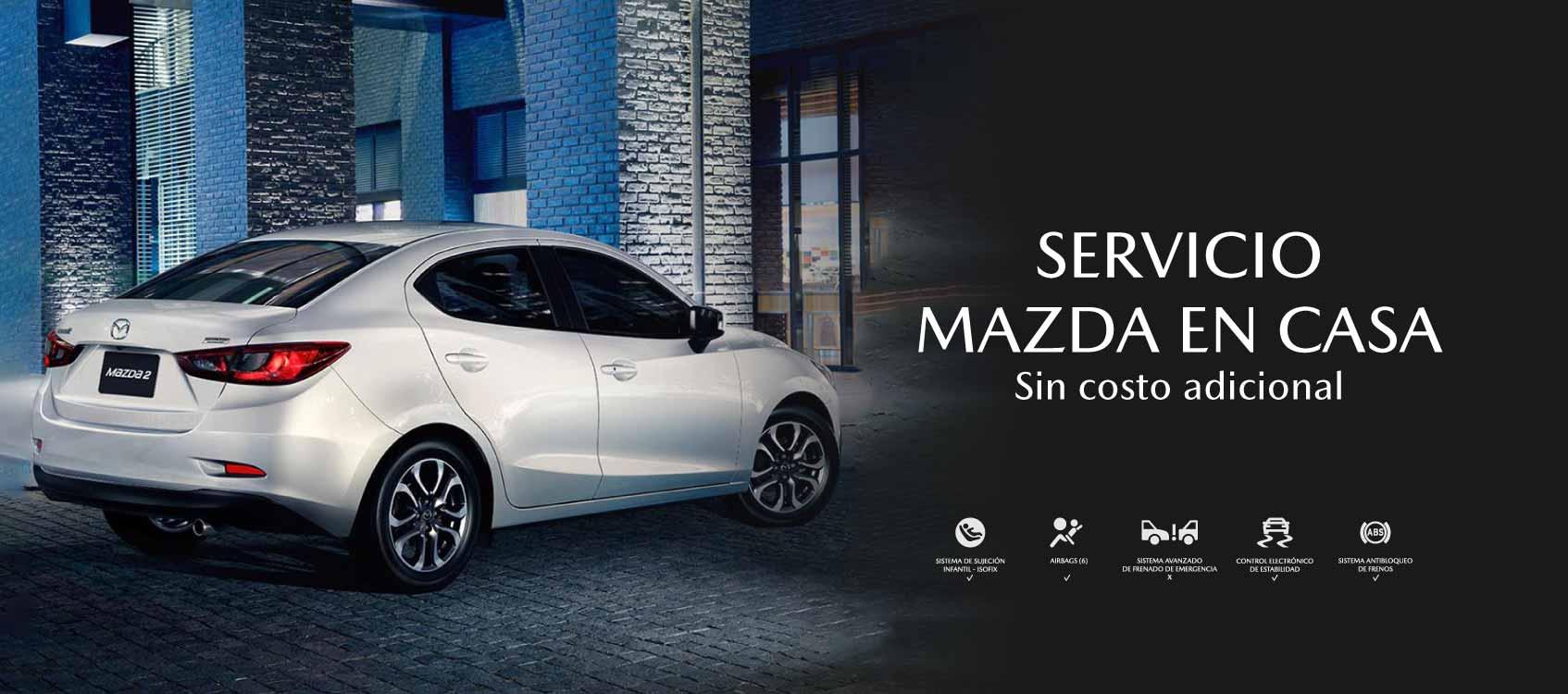 Mazda Vardí en casa